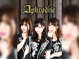 唯一無二のゴシックアイドル「Aphrodite」三ヶ月連続リリースの第一弾が発売!