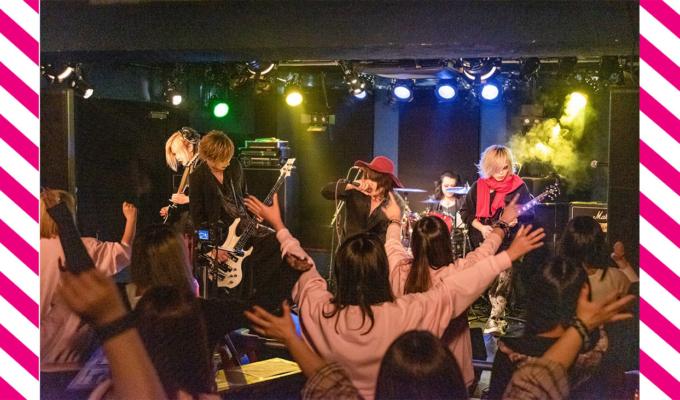 理性を消し去り、暴れ狂え。ラヴェーゼには珍しい小粋な遊び心も飛びだした、凪斗-nagitoの生誕祭公演。